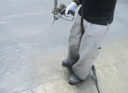 屋上防水工事には専門的な工法が必要です