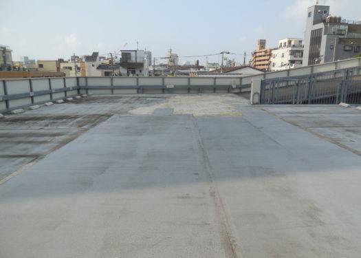 自走式駐車場 屋上防水改修工事【築15年】