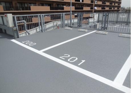 駐車場補修工事